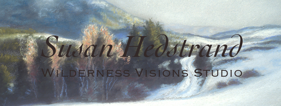 Susan Hedstrand - Wilderness Visions Studio - Equine, Wildlife & Wilderness Art